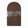 Чехол для одежды двойной  короткий 100х60х20, Minimalistic, Minimalistic Brauny