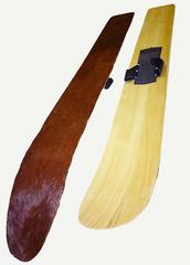 Охотничьи лыжи с камусом