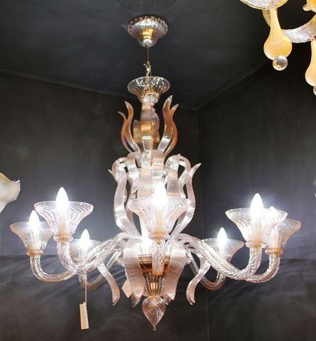 murano chandelier  SYLCOM 12-07  by Arlecchino Arts ( HK)