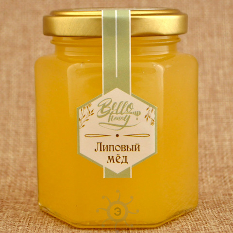 Мёд липовый BelloHoney, 300г
