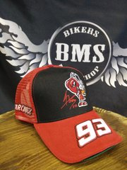 Бейсболка Original - Moto GP - Marquez - Black-Red