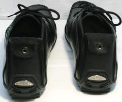 Купить черные мокасины мужские Ikoc 112-1Black