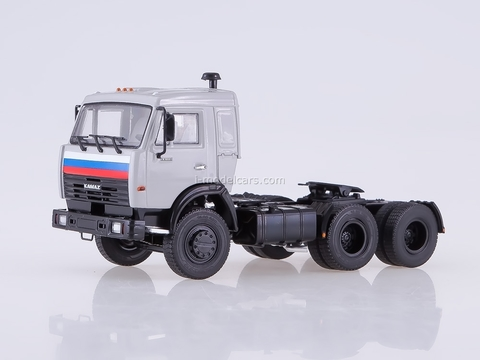 KAMAZ-54115 road tractor white 1:43 PAO KAMAZ
