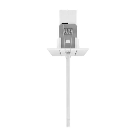 Светильник серии ONTEC G с рамкой для встраиваемого монтажа в потолки из гипсокартона – вид сбоку
