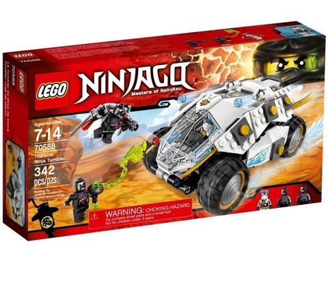 LEGO Ninjago: Внедорожник титанового ниндзя 70588 — Titanium Ninja Tumbler — Лего Ниндзяго