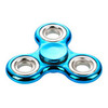 Metalic Plastic Triangle Hand Spinner