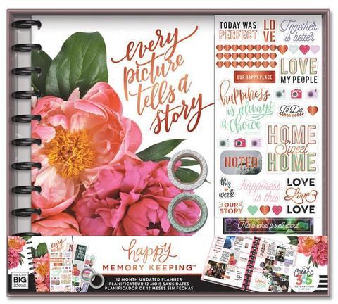 Набор для заполнения ежедневника  + планер Happy Memory Keeping™ BIG Box Kit - 23 х 28 см. - Every Picture Tells A Story