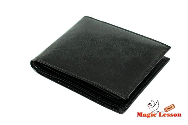 Горящий кошелек черный