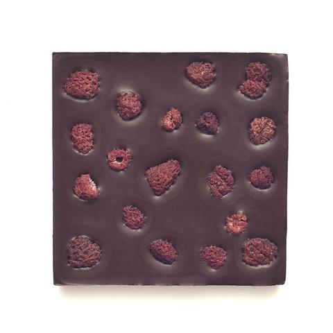 Шоколад Горький, 72% какао, на пекмезе с малиной и лимоном  90 г