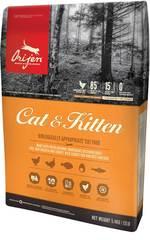 Orijen Cat & Kitten полнорационный корм для кошек и котят всех пород