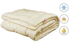 Одеяло Коллекции МОДЕРАТО  в сатине наполнитель овечья шерсть Теплое.