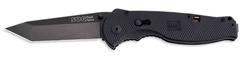 Складной нож SOG Мод. FLASH II TANTO BLACK 97037