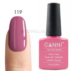 Canni, Гель-лак 119, 7,3 мл