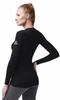 Теплый комплект термобелья из шерсти мериноса Norveg Soft черный-меланж - фото, скидки