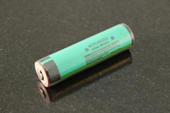 Аккумулятор 18650 Panasonic для светодиодных фонарей 3.7V 3100mAh с защитой
