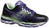 Женские кроссовки для бега Asics Gel-Nimbus 17 (T557N 9935) черные фото