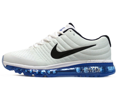 Кроссовки Мужские Nike Air Max 2017 Blue Black White