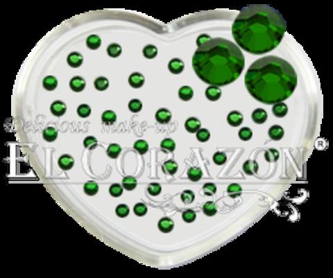 ЭК Стразы стеклянные 100шт/113   SS6-зелёный