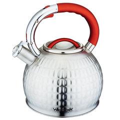 Чайник со свистком 3,0л Webber ВЕ-0540 сатин