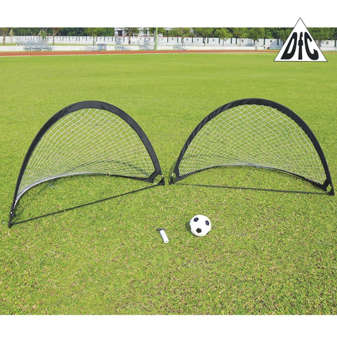 Ворота игровые DFC Foldable Soccer (Black)