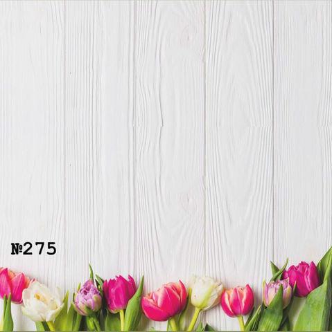 Фотофон виниловый «Девять тюльпанов» №275