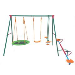 Детский комплекс с качелями-каруселями DFC MSW-01 343 х 240 х 196 см