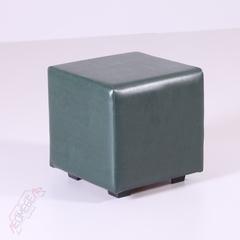 Пф-01 Пуфик квадратный  (темно-зелёный)