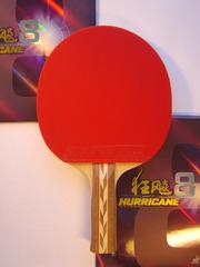 Ракетка для настольного тенниса №37 Combi Carbon/ Hurricane 8