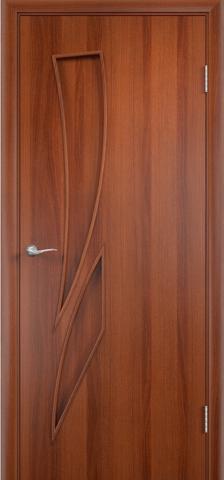 Дверь Фрегат ПГ-012, цвет итальянский орех, глухая