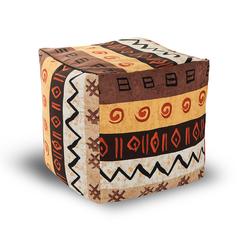 Пуфик куб Африка