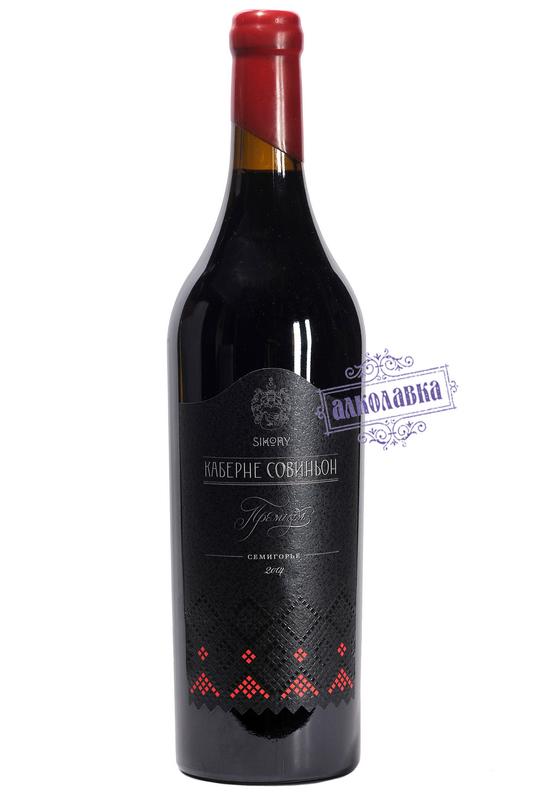 Вино Каберне Семейный Резерв 0,75