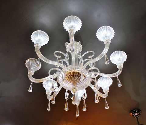 murano chandelier  SYLCOM 12-09  by Arlecchino Arts ( HK)