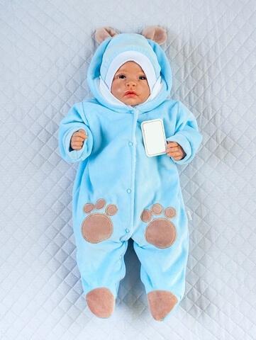 Комбинезон Little Bear голубой
