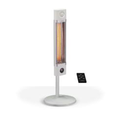 Инфракрасный карбоновый обогреватель с пультом ДУ Veito CH1800 RE White
