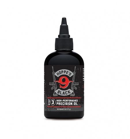 HOPPE'S BLACK МАСЛО PRECISION OIL УНИВЕРСАЛ.ОРУЖЕЙН.,ЗАЩИТА+СМАЗКА,ИНГИБИТОР РЖАВЧИНЫ, T -54 - +280°С, 118МЛ