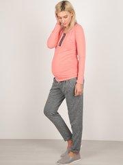 Евромама. Брюки для беременных полуспортивные, ем 3339-3 серый