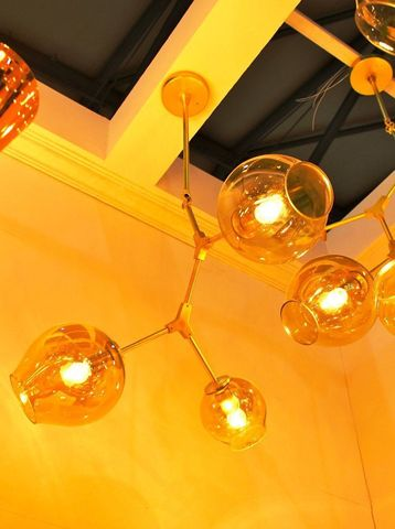 replica Lindsey Adelman 3 Branching Bubble Chandelier