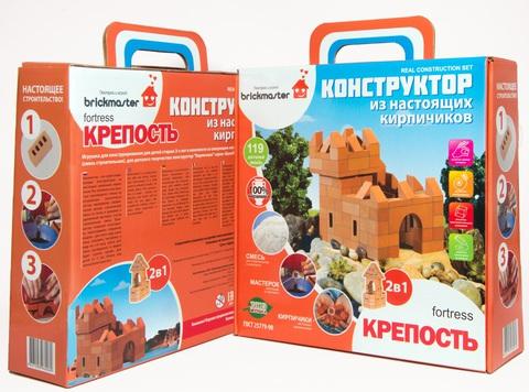 Конструктор BRICKMASTER - Крепость 2 в 1, 119 деталей