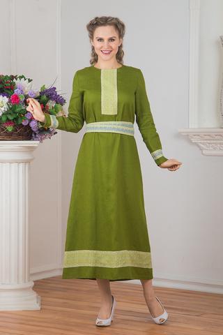 Платье льняное Лесная нимфа