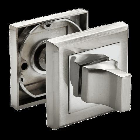 Фурнитура - Завёртка  Rucetti RAP WC-S SN/CP, цвет белый никель/полированный хром