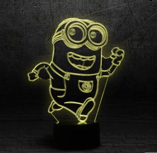 3D светильник Миньон — 3D light Mignon