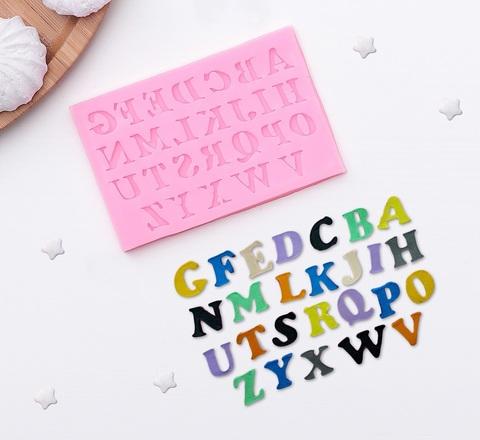 Молд силиконовый «Английский алфавит»