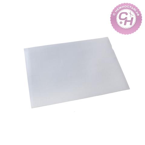 Магнитный лист 0,5 мм × 21 см × 30 см, 1 шт, самоклеющийся.