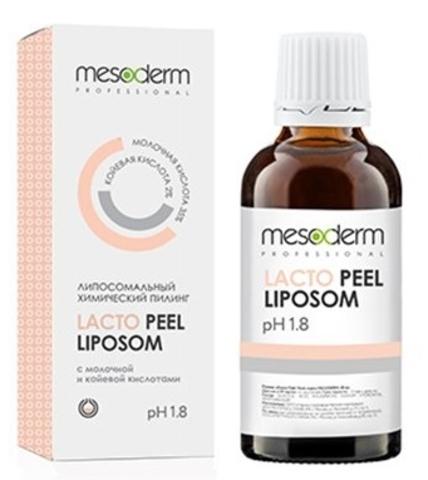 Химический липосомальный молочный пилинг 35%, pH 1,8 Лакто Пил Липосом Lacto Peel Liposom Mesoderm, 30 мл.
