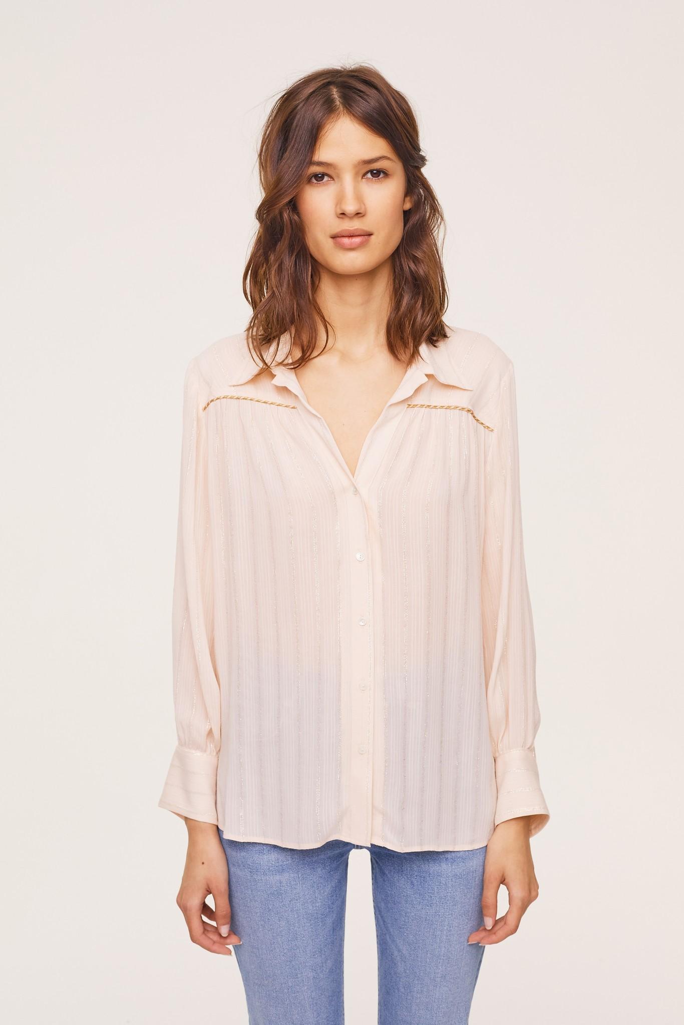 CHERYL - Свободная рубашка из хлопка