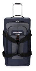 Сумка на колесах SWISSGEAR Sport Line, цвет синий/серый, 36x30x61см, 55 л