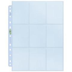 Ultra pro - лист для папки на кольцах Platinum (3х3)