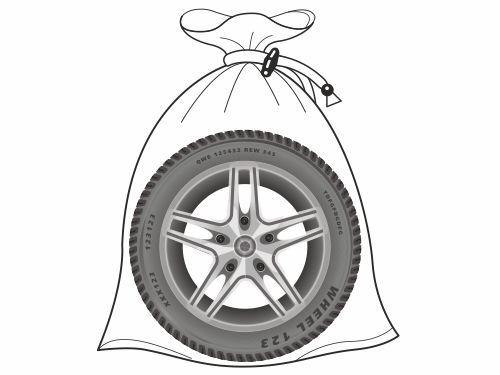Мешки для шин, 4 шт. (до R18, ширина шины до 240 мм)