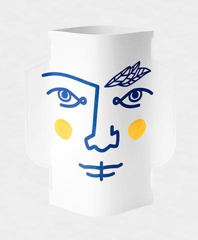 Двухсторонняя бумажная ваза JANUS