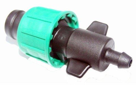 Старт - коннектор для системы капельного полива TUBOFLEX ( в уп. 10 шт)